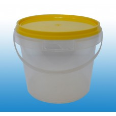 Honey Bucket; 3Kg With Green Or Yellow Lid 100/ctn