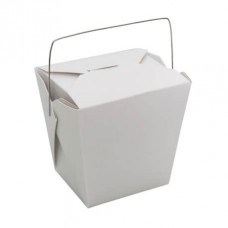 Food Pail; wire handle 26oz 780ml  9 x 50pk/ctn 450/ctn