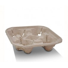 Cup Holder Tray; egg carton moulded style 4 cell 300/ctn