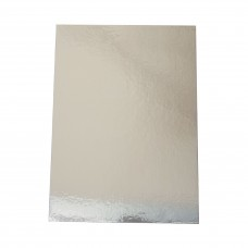 "Full Slab Rectangle Silver Cake Boards - 29 x 17"" 736 x 431mm 10 per packet"