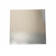 "14"" Square Silver Cake Boards - 355mm 25 per pack"