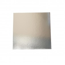 "12"" Square Silver Cake Boards - 300mm 50 per pack"