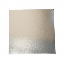 "16"" Square Silver Cake Boards - 405mm 50 per pack"