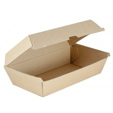 Large Kraft Cardboard Snack Box - 200 per carton