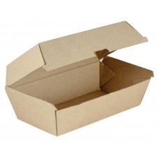 Regular Kraft Cardboard Snack Box - 200 per carton