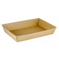 No.4 Size Cardboard Food Tray 228 x 152 x 45mm 240 ctn