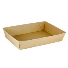 No.5 Size Cardboard Food Tray 255 x 180 x 58mm 100 ctn