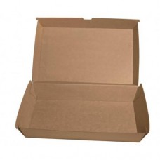 Kraft Cardboard Family Food Box/Clam - 100 per carton