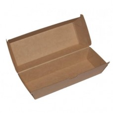 Hot Dog Pack; cardboard 210 x 70 x 40mm 200/ctn