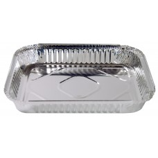 Foil Container; #485 large deep rectangle 315 x 255 x 45 100/ctn