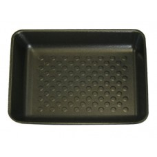 "11 x 9"" Black Open Cell Foam Trays - 280 x 220 x 30mm - 360 pack"