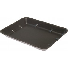 "8 x 7"" Deep Black Foam Trays - 213 x 189 x 30 mm"