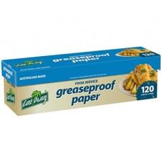 Greaseproof Paper; 30cm x 120m roll 4rolls/ctn