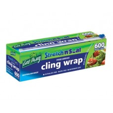 Castaway Stretch'n'Seal® Foodservice Cling Wrap - 33cm x 600m