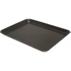 "14 x 11"" Black Foam Trays - 350 x 280 x 25 mm"