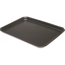 "11 x 9"" Black Foam Trays - 280 x 225 x 20 mm - 125 pack"