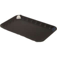 "8 x 5"" Black Foam Trays - 213 x 138 x 14 mm"