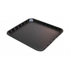"8 x 7"" Black Foam Trays - 200 x 180 x 14 mm - 125 pack"