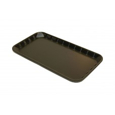 "9 x 5"" Black Foam Trays - 230 x 125 x 14 mm"