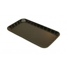 """9 x 5"""" Black Foam Trays - 230 x 125 x 14 mm - 100 pack"""