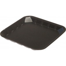 "5 x 5"" Black Foam Trays - 138 x 138 x 14 mm"