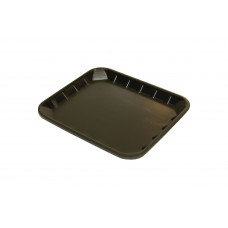"6 x 5"" Black Foam Trays - 161 x 138 x 14 mm - 125 pack"