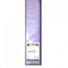 Tablecover; plastic 1.2m x 30m - Lavender