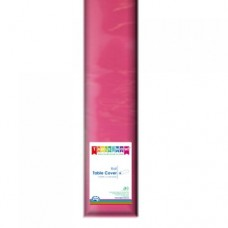 Tablecover; plastic 1.2m x 30m - Magenta