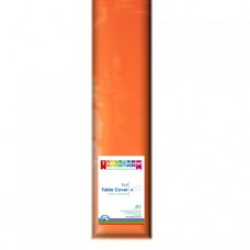 Tablecover; plastic 1.2m x 30m - Orange