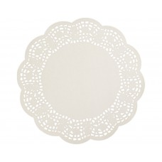 "Doyleys; paper lace round 10"" 250mm 8 x 250pk/ctn 2000/ctn"