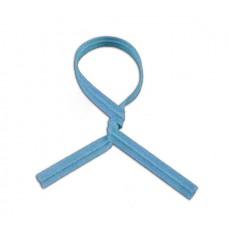 """Twist Ties; paper coloured 3"""" 75mm 10 x 1000pk/ctn 10,000/ctn"""