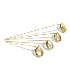 Bamboo Ring Skewers 90mm - 100pk