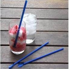 Spoonstraws; Blue 10x250pk