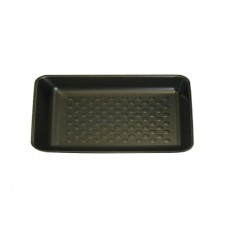 "11 x 5"" Open Cell Black Foam Trays - 280 x 140 x 30 mm - 360 pack"