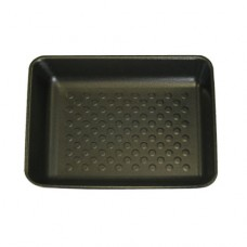 "8 x 7"" Open Cell Black Foam Trays - 220 x 190 x 30mm"