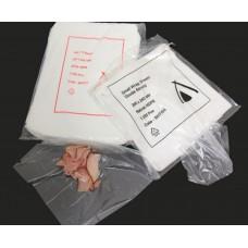 White Poly Wrap Sheets 1/4 Size - 330 x 200mm 6000ctn