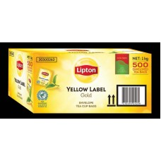 Lipton Teabags; Envelope Yellow Label 1000ctn
