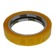 Clear Utility Tape 18mm x 66m - 8 rolls per pack