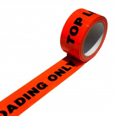 Warning Tape; 'Top Loading' orange/black 50mm x 66m 6 x 6pk/ctn 36rolls/ctn