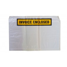 Document Envelopes; White 'Invoice Enclosed' 150 x 230mm 500/ctn