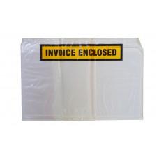 Document Envelopes; White 'Invoice Enclosed' 150 x 230mm 500/ctn
