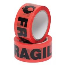 Warning Tape; 'fragile' fluoro