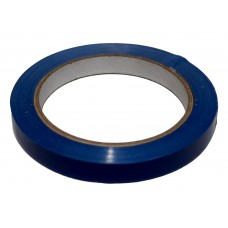 Bag Sealing Tape; blue 12mm x 66m 12 x 1pk/ctn 144rolls/ctn