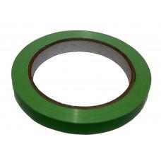 Bag Sealing Tape; green 12mm x 66m 12 x 1pk/ctn 144rolls/ctn