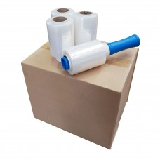 Bundling Film Wrap; 100mm x 150m clear 24rolls/ctn