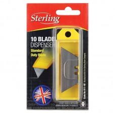 Blade Dispenser; Sterling 10 blade
