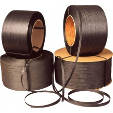 Heavy Band Black PP Strapping 15mm x 1000m - 250kg tensile