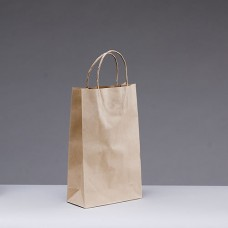 No.265 Brown Kraft Paper Bag With Twist Handle