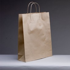 No.420 Brown Kraft Paper Bag With Twist Handle