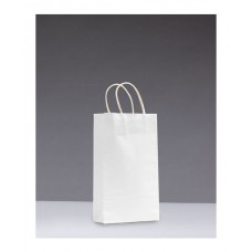 No.265 White Kraft Paper Bag With Twisted Handle